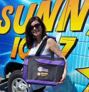 Sunny 103.7 Summer Fun Beach Bags