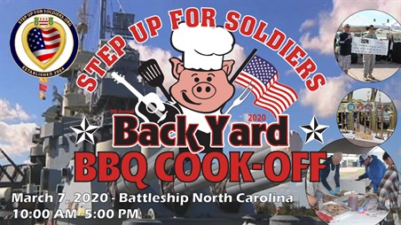 9th Annual Step Up For Soldiers Backyard BBQ